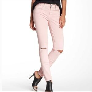 Rebecca Minkoff Distressed Pink Jeans/Pants Sz. 28
